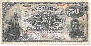BILLETE 50 PESOS
