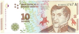 BILLETE DE10 PESOS,
