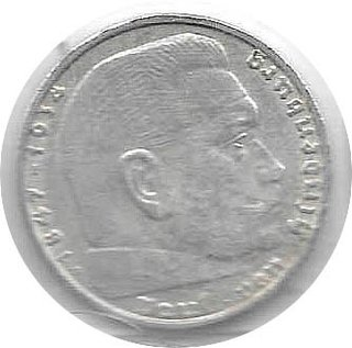 MONEDA DE PLATA, ALEMANIA 1 MARK