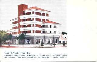 Cottage Hotel. Carrasco. Montevideo.