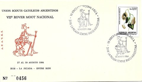Union Scouts Catolicos Argentinos. VII Rover Moot.