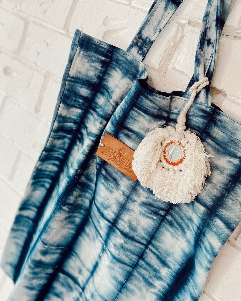 Cartera Tote Cotton Batik