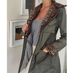 Campera Militar Animal Impermeable