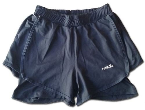 Short Hombre Running Con Calza Incorporada Dual Power