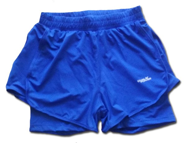 Short Hombre Running Con Calza Incorporada Dual Power - Fivra