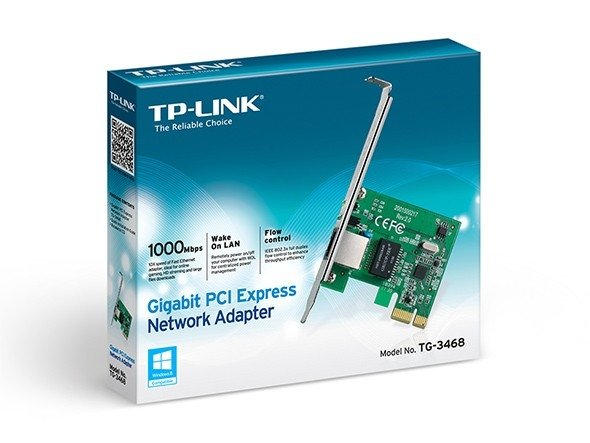 PLACA RED TP-LINK PCI-E 10/100/1000 UTP