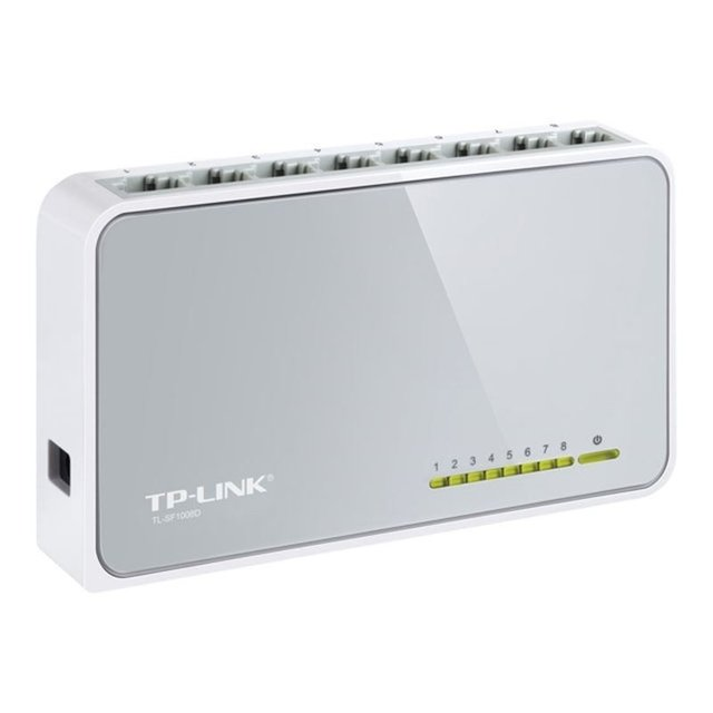SWITCH TP-LINK 8 BOCAS 10/100MB SF 1008D - comprar online