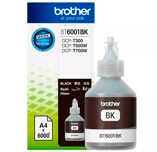 BROTHER ORIG. BT6001BK AMARIL BOT. P/DCP-T300 DCP-T500 DCP-T