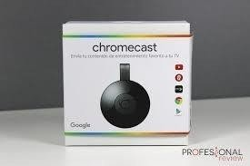 GOOGLE CHROMECAST II en internet