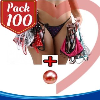 PACK/ 100 KITS TANGUINHAS C/ BOLINHAS SEX EXPLOSIVAS