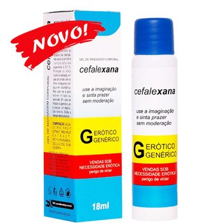 CEFALEXANA GEL SEXO ORAL 18ML -  SECRET LOVE 101981