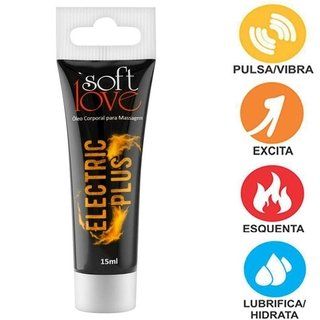 Eletric Plus Bisnaga 15ml  - Soft Love 100370 - comprar online