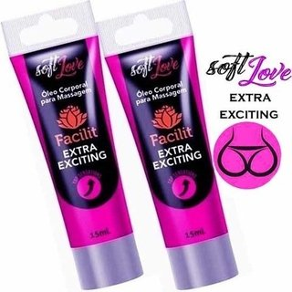 FACILIT EXTRA EXCITING BISNAGA 15ML - SOFT LOVE 101337 - comprar online