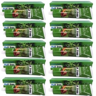 Pack/10 Gel Restaurador Multi Ervas 120G - San Jully 101687