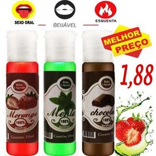 Gel  excitante Beijável Aromas Hot 10ml - Psex 101866 - comprar online
