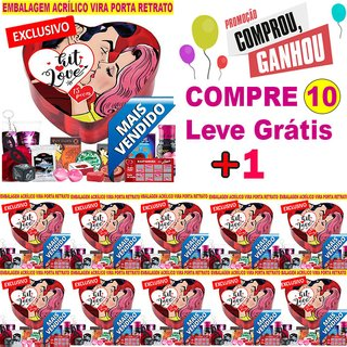 Pack Promocional Pague 10 Leve 11 kit Love Especial - Jeito Sexy