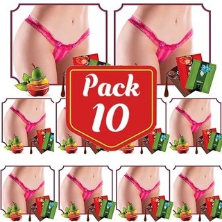 PACK/10 kit 2x1  Tanguinha do Beijo Doce  - JEITO SEXY