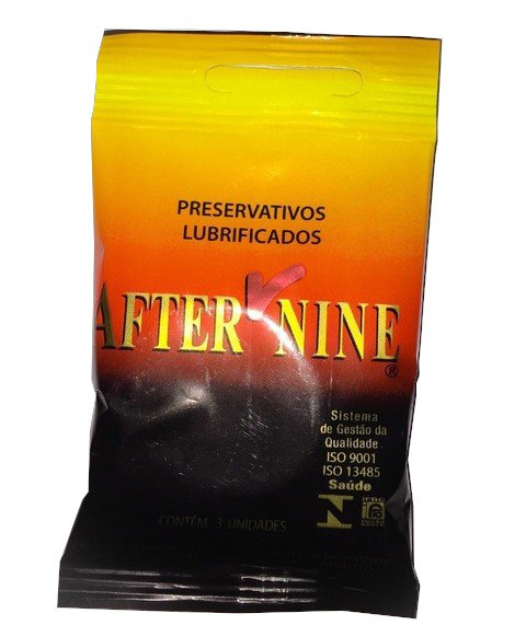 Preservativo  liso 3unid - After Nine