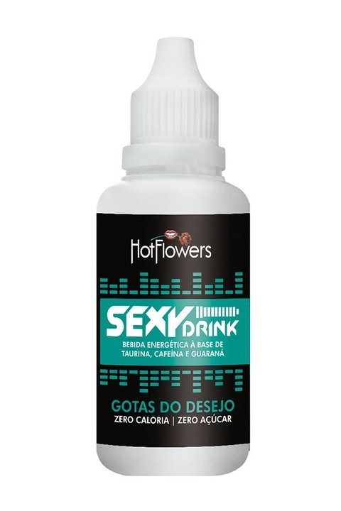 Sexy Drink Gotas do Desejo 15ml - Hot Flowers -HC470