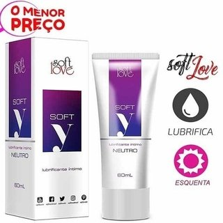 LUBRIFICANTE SOFT Y  60 ML - SOFT LOVE