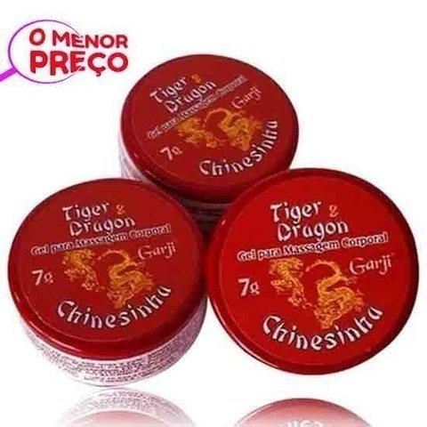 Pomada Chinesinha Tiger Dragon 7g - Garji 100208