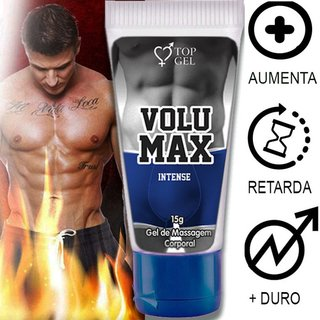 VOLUMAX INTENSE (AUMENTA, PROLONGA, ENGROSSA E EXCITA) 15ML -TOPGEL 101917