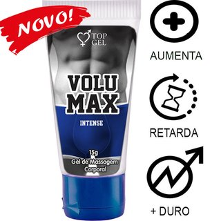 VOLUMAX INTENSE (AUMENTA, PROLONGA E  ENGROSSA) 15ML -TOPGEL 101917