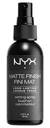 Spray Fixador de Maquiagem Matte Finish NYX - 60ml