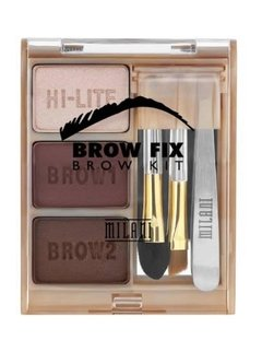 KIT SOBRANCELHA MILANI BROW FIX- DARK 02