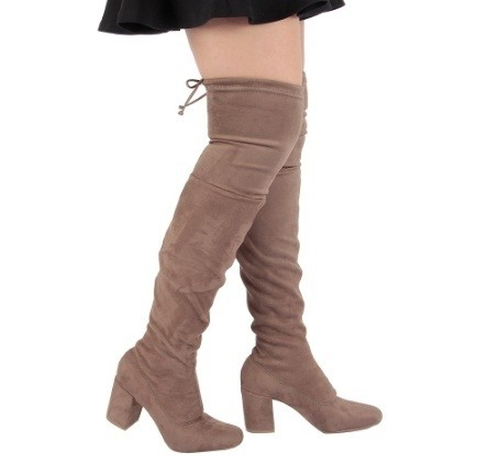 Bota Feminina Over The Knee 1619.1156 ZATZ - comprar online