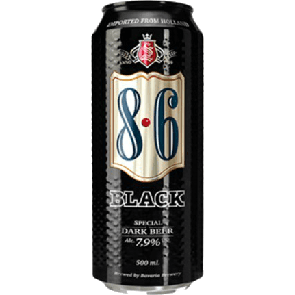 Lata Bavaria Black 500ml