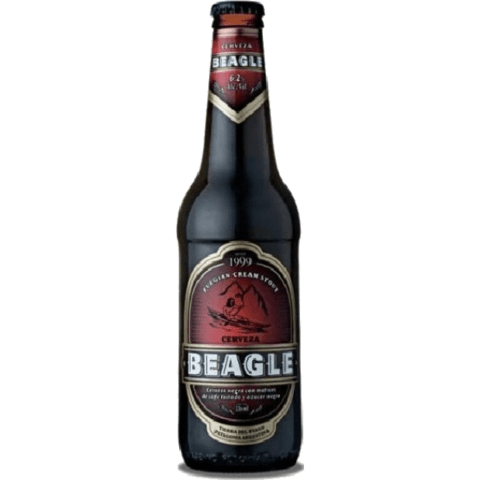 Botella Beagle Cream Stout Ale 1Litro