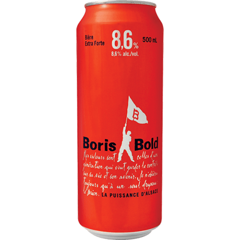 Lata Boris Bold 500ml