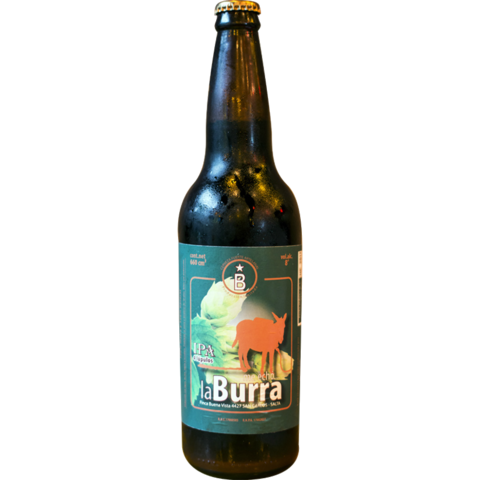 Botella Me echo la burra IPA 660ml