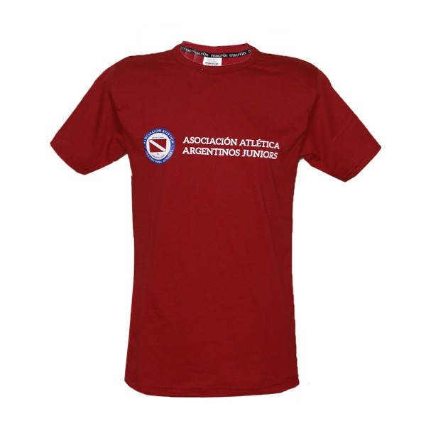 Remera Fan Argentinos Juniors Macron Algodon
