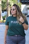 T-Shirt Please Plus Size - Cód 181135* - comprar online