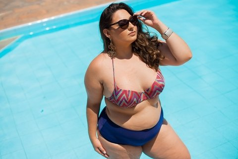 Calcinha Hot Pants Plus Size*