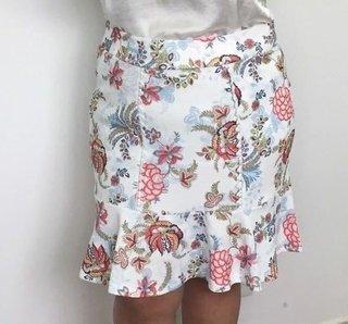 Saia Floral Plus Size - cód. 33013*