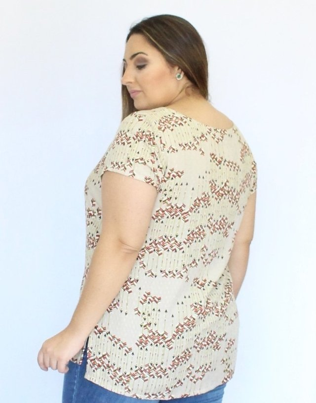 Blusa Viscose Plus Size