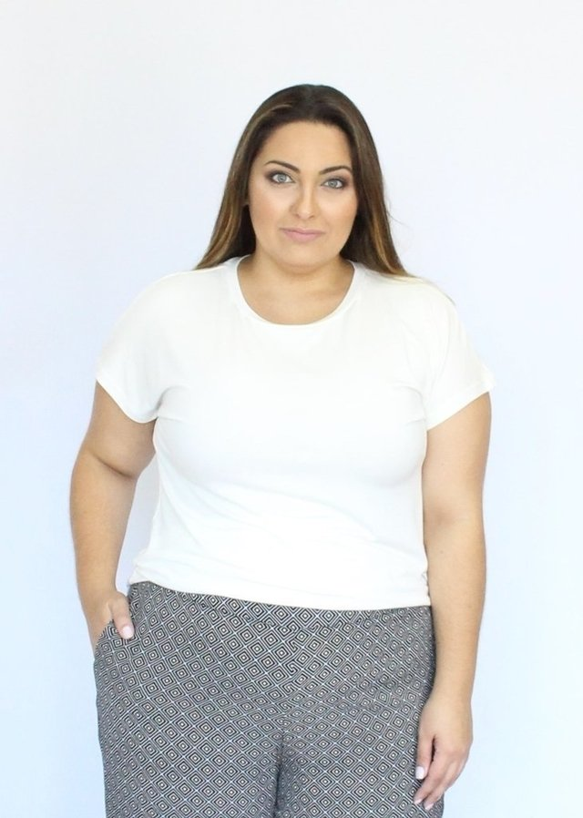 T-Shirt Básica Plus Size