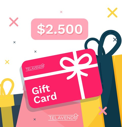 Gift Card $2.500
