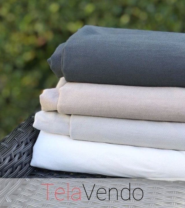 Gabardina Washed Elefante - Telas por Mayor y Menor - TelaVendo