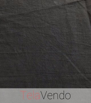 Gabardina Washed Grafito - Telas por Mayor y Menor - TelaVendo
