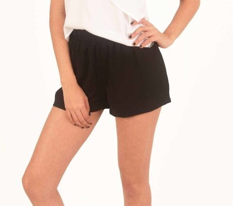 Short Wind Liso Negro