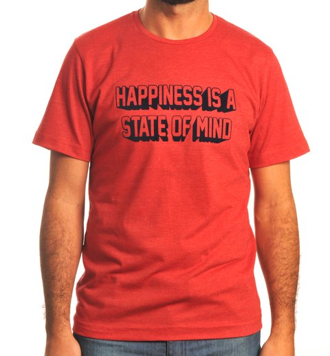 Remera Happiness Is A State Of Mind