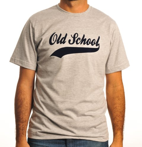 Remera Old School