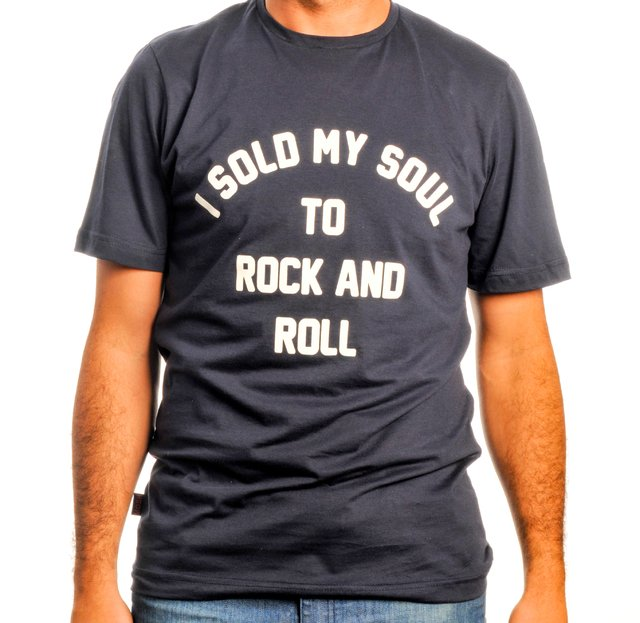 Remera I Sold My Soul To Rock and Roll