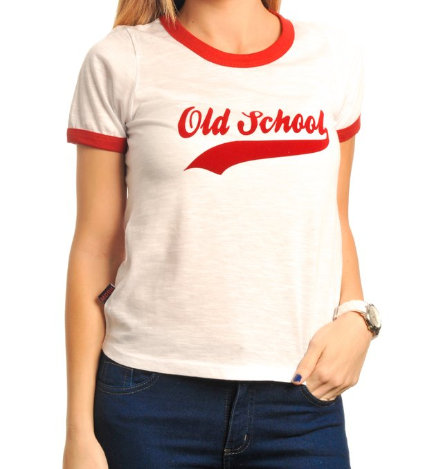 Remera Ringer Old School