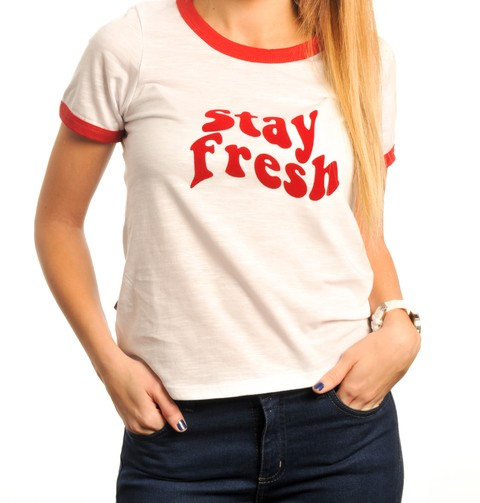 Remera Ringer Stay Fresh - comprar online