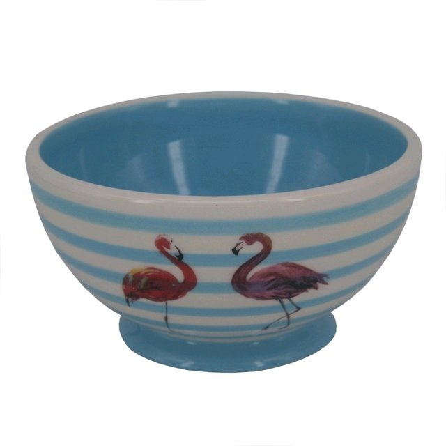 BOWL DE FLAMINGO AZUL